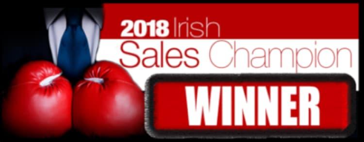 Irish Sales Champion 2018